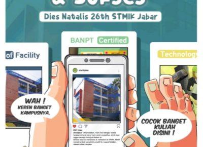 STMIK Jabar Bangun Daya Kreasi dan Kompetisi Desain Poster SMA se-Indonesia